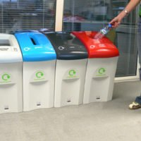 office recycling of waste