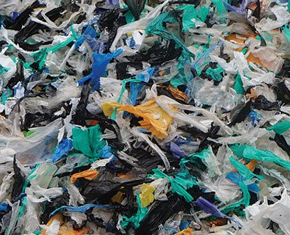 polythene recycling from house clearances